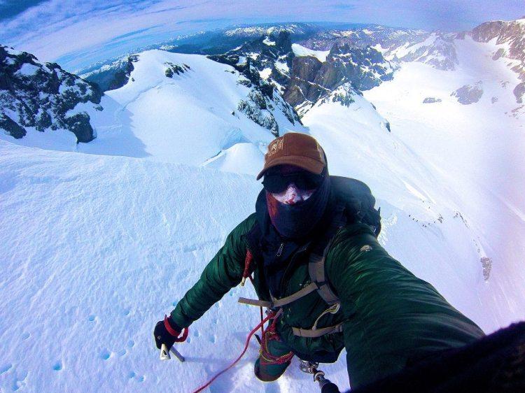 Final Ascent of Pyramid Mountain, near Cerro San Lozenzo