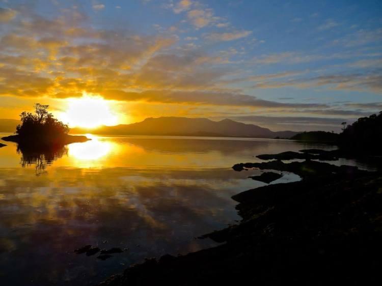 Epic Sunrise, Achipelago de Chonos, Chile