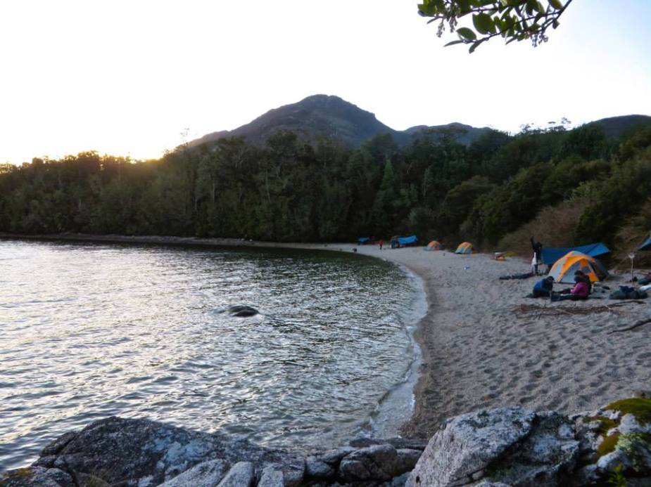 Chonos Half Moon Bay, Achipelago de Chonos, Chile