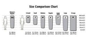 Neo Air X-Lite Size Chart