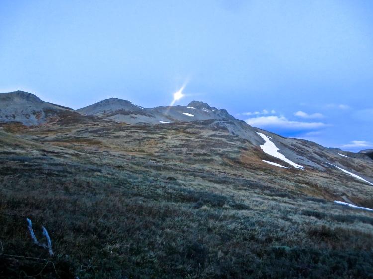 Moonrise above Treeline