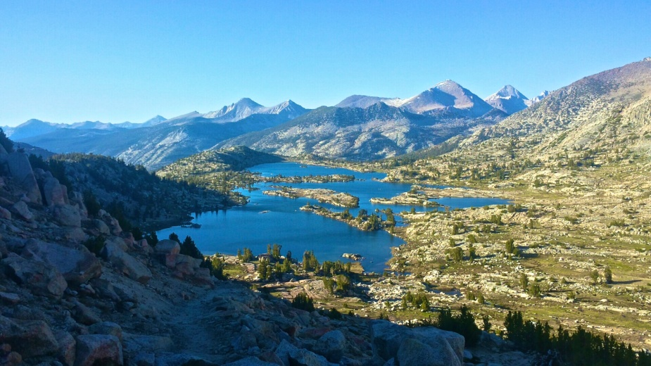 Marie Lake from Selden Pass