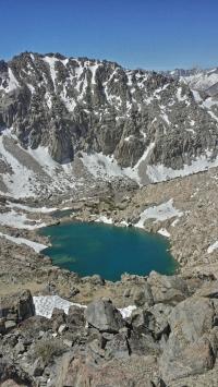 South of Glen Pass