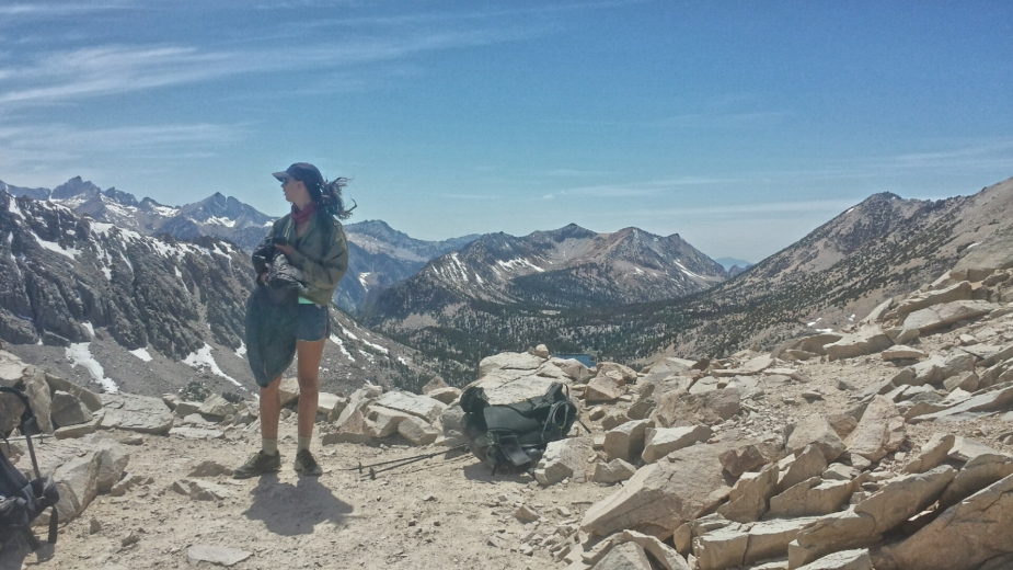 Legs on Kearsarge Pass