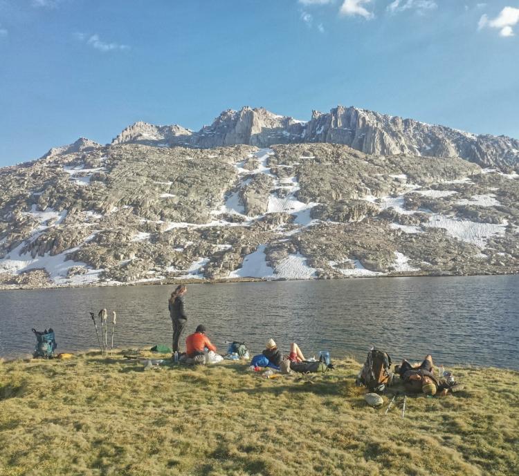 Hiker Trash at Guitar Lake