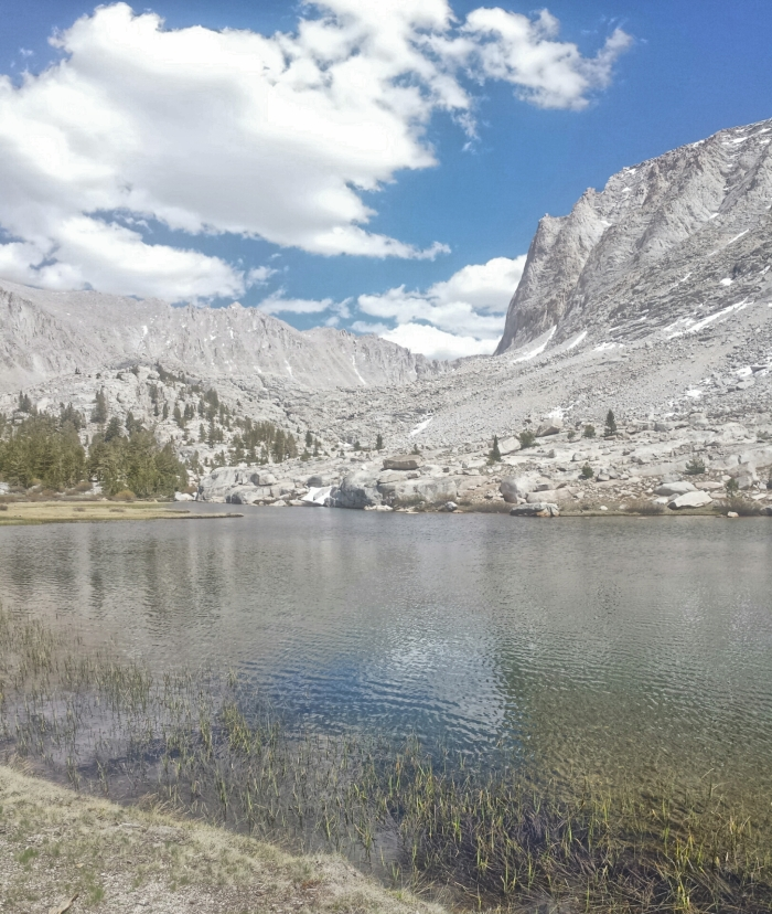 Timberline Lake, on the approach to Mt. Whitney.