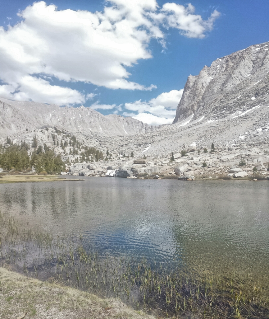 Timberline Lake, approaching Mt. Whitney