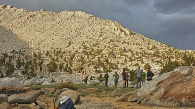 Hiker Trash do hiker trash things under the granite peaks of the Sierra.