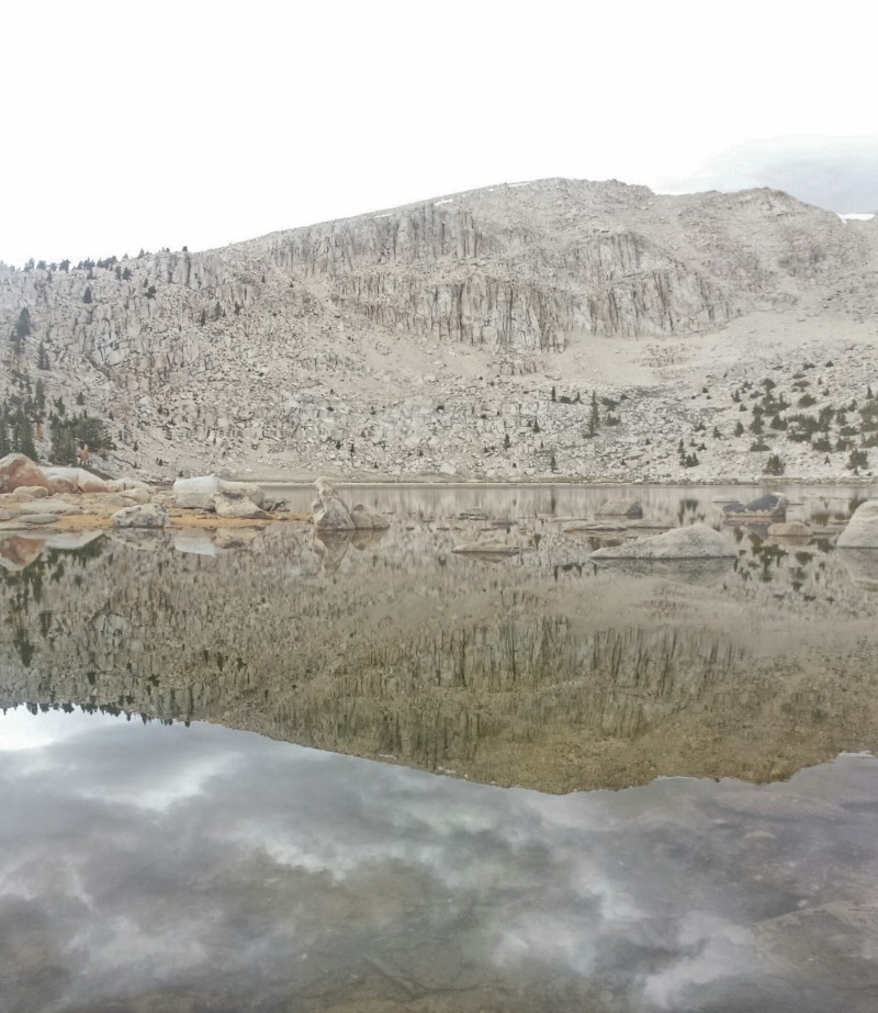 Chicken Spring Lake. The first alpine lake on the PCT.