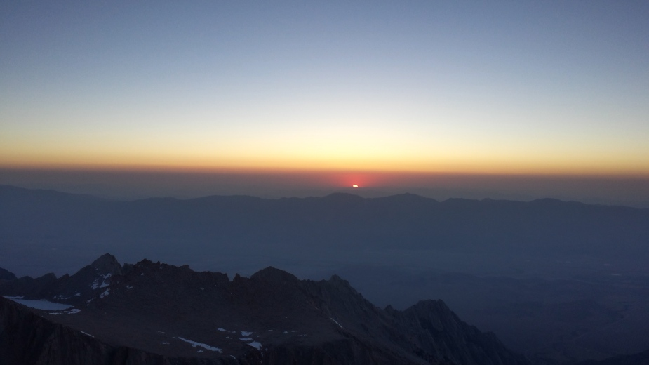 Sunrise on Mt. Whitney