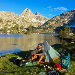 Evolution Lake on the PCT/JMT