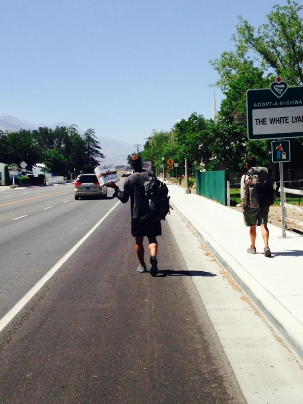 Hiker to Bishop