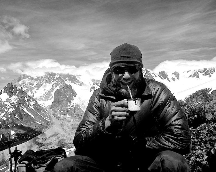 Matè on the summit