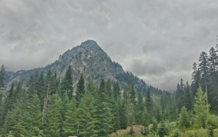 Just north of Snoqualmie Pass