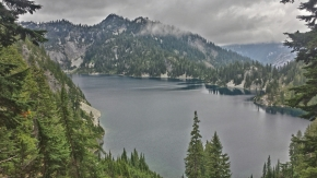 Lake Ivanoe after Snoqualmie Pass, Washington