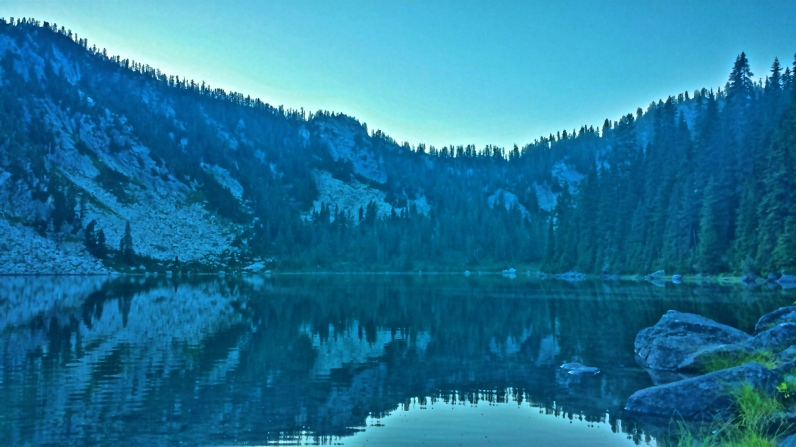 Pear Lake, Washington on the PCT