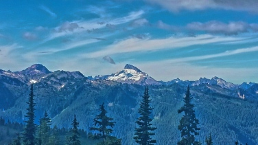 Grinch Mountain or Mount Baker I think