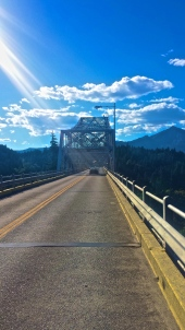 The Bridge of the Gods. Cascade Locks, Washington