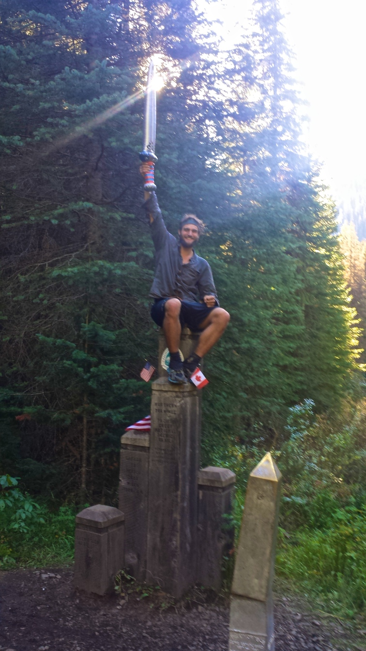 I HAVE THE POWER!!!! PACIFIC CREST TRAIL THRU HIKE COMPLETE!
