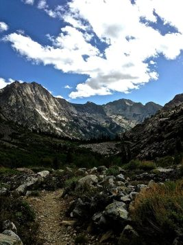 Follow the Path on the Pacific Crest Trail/John Muir Trail. (CRED: Nicole Frias)