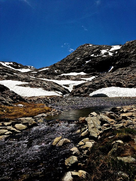 Climbing Muir Pass (CRED: Nicole Frias)