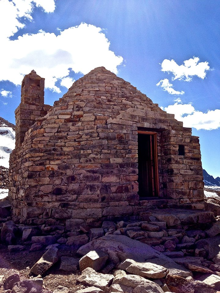Muir Hut on the Pacific Crest Trail/John Muir Trail.