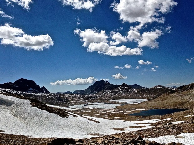 Evolution Basin on the Pacific Crest Trail/John Muir Trail. (CRED: Nicole Frias)