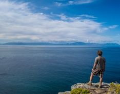 Exploring Cape Point.