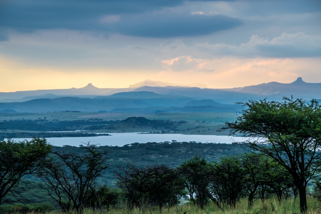 Taken from a 'major' road looking Spioenkop Dam and Preserve.