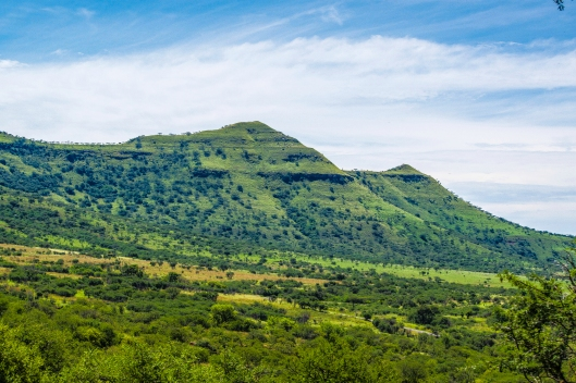 The Twin Peaks of Spioenkop Hill. At one point, Ghandi, Winston churchill, and Paul Kruger all stood her at the same time.