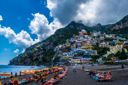 The Beautiful Colors of Positano.