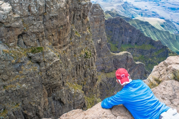 Look up Itchy Feet in South Africa to take you on a high Drakensberg Adventure.