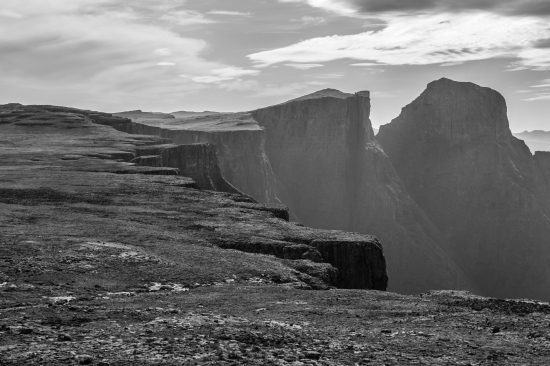 Black and White Eastern Buttress.