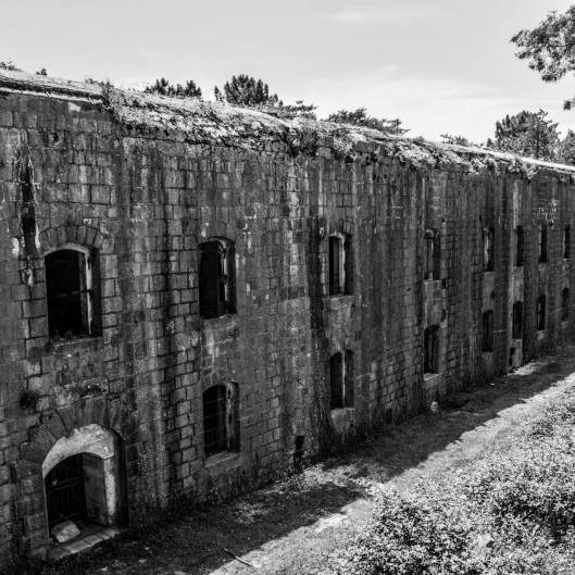 9. The Vrmac Abandoned Austro-Hungarian Fortress. You can explore it's dark, dank, depths, but beware of bats. ALLITERATION!