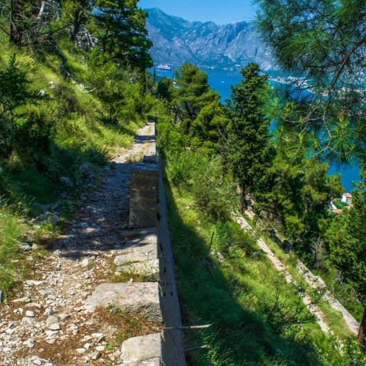 4. This ancient pedestrian path was originally used for Montenegrins' who needed to reach the open Adriatic from their protected, bay town.