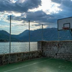 One of the coolest basketball courts I've ever seen!