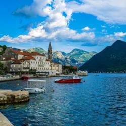 The beautiful town of Perast