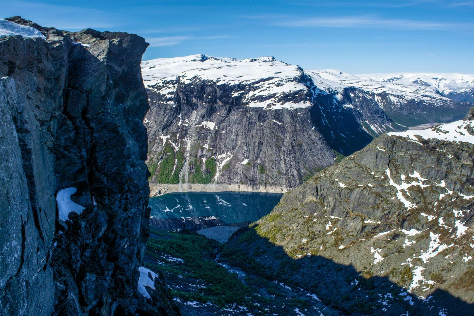 Amazing views, and we haven't got to the Trolltunga yet!