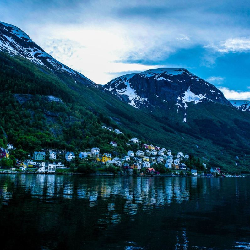 The Hardangerfjord and Odda, Norway
