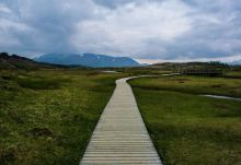 Boardwalks at Thinfellir National Park