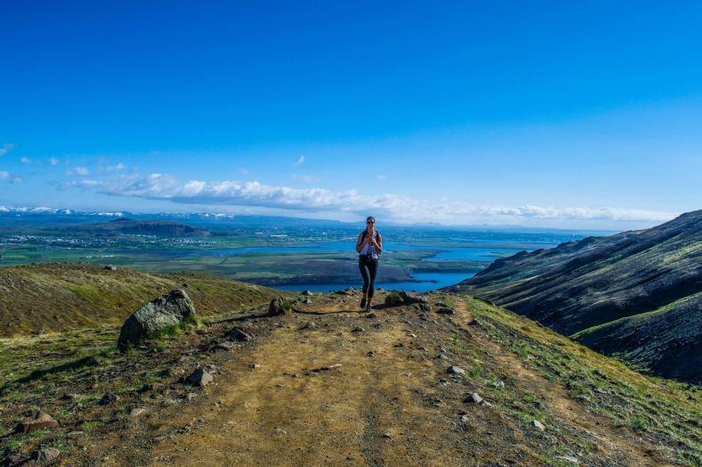 Legs is such a good hiker.
